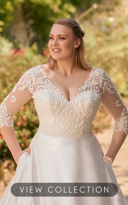 Click here to view our Plus Size Wedding Dress Collection